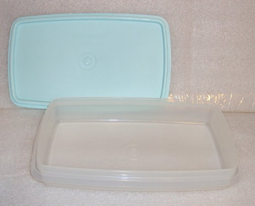 Vintage Tupperware Deli Keeper for Meat and Cheese, Mint Green Seal (Cheese Tupperware compare prices)