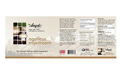 Ample, Premium Ample Series, Agaricus Mushroom Powder, 10.85 Oz