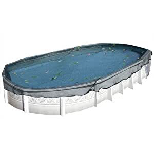 18 39 X 34 39 Oval Leaf Net Winter Pool Cover