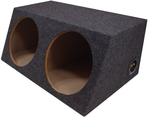 American Sound Connection H212 2 X 12-Inch Deep Angle Round Sub Box (Dual)