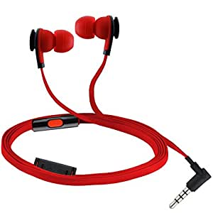 CRESYN C520S Red Stereo Earphone