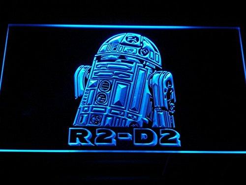 R2-D2 Star Wars LED Neon Light Sign Man Cave G111-B