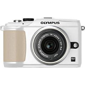 Olympus 262921 E-PL2 14-42mm Digital Camera (White)