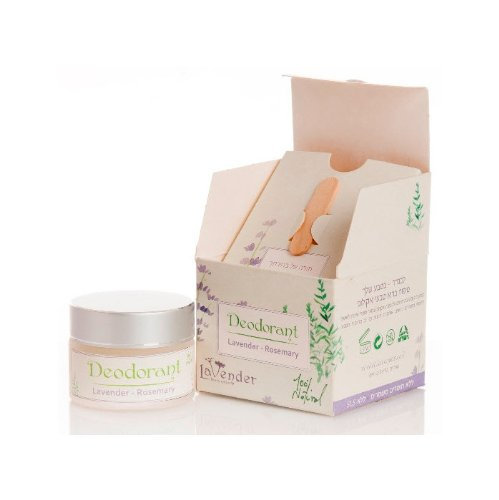 Lavender-Rosemary Natural Deodorant - By Lavender