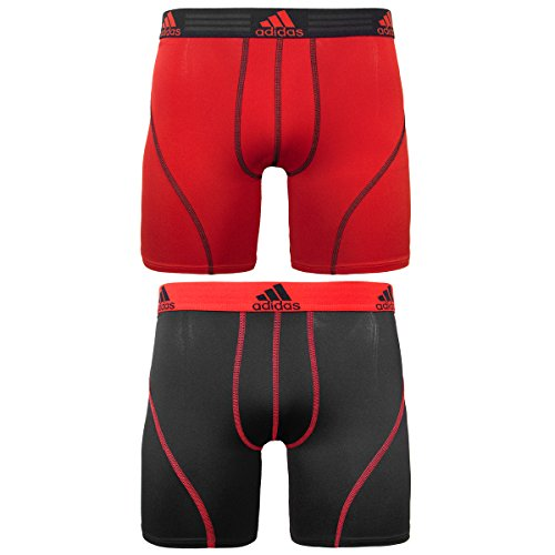 6d597ff0ca47 adidas Men s Sport Performance Climalite 9-Inch Midway Underwear (2-Pack)