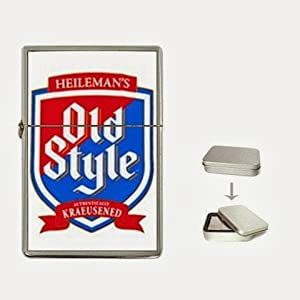 Chicago Cubs Cub Style Old Style Beer Flip Top Lighter and Case Box