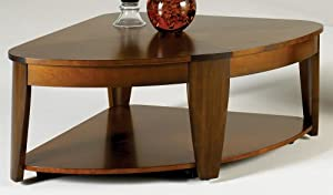 Hammary Oasis Wedge Lift Top Cocktail Table In Cherry Walnut Kitchen Dining