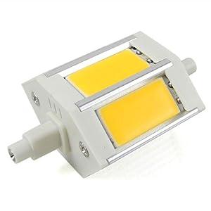 led lampen test mengs r7s j78 78mm 6w dimmbar cob led flutlicht leuchtmittel mit aluminuium. Black Bedroom Furniture Sets. Home Design Ideas