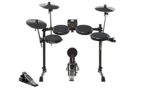 Alesis DM6 Nitro Kit | Eight-Piece Compact Beginner Electronic Drum Set with 8