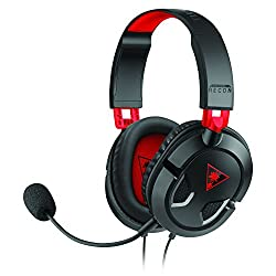 Ear Force Recon 50 Gaming Headset for PC/Mac, PlayStation 4, mobile and Xbox One (compatible w/ new Xbox One controller) (TBS-6003-01)