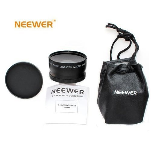 Neewer 52mm WIDE-ANGLE Lens ~INCLUDING BAG~ FOR