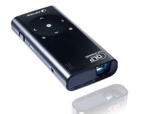 Aiptek PocketCinema V60 Projecteur DLP avec Office Reader 50 ANSI lumen noir