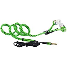 Micromax Bolt A58 COMPATIBLE Wired Headphone/Earphone/Stereo Headphone (Green) with Super Sound 3.5MM Jack by JIYANSHI