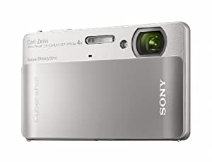 Sony Cyber-shot DSC-TX5 10.2MP CMOS Digital Camera with 4x Wide Angle Zoom with SteadyShot Image Stabilization and 3.0 Inch Touch Screen LCD (Silver)