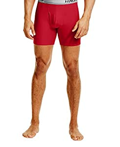 Under Armour Men's UA Original Series Printed Boxerjock® Small Red