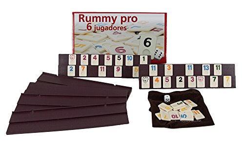 Aquamarine Games - Rummy, 6 jugadores (DO001)