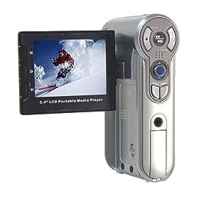 Aiptek Pocket DV5800 MPVR Plus 5MP MPEG4 Media Player & Video Recorder