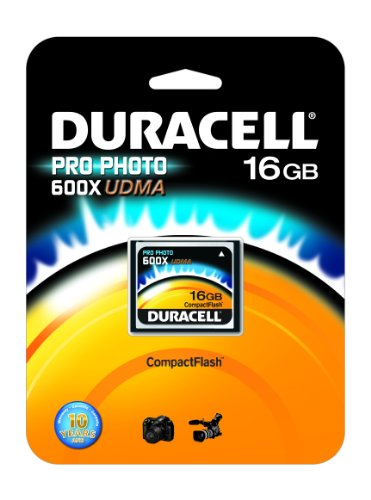 Duracell 16GB 600 x Speed ProPhoto CompactFlash