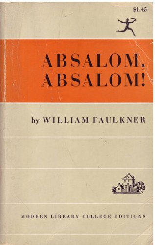 an analysis of absalom absalom ghosts of the old south by william faulkner View homework help - william faulkner handout from engl 1102 at georgia tech as i lay dying (1930) these 13 (1931) o a rose for emily light in august (1932) absalom, absalom.