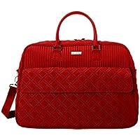 Vera Bradley Grand Traveler Travel Bag in Tango Red