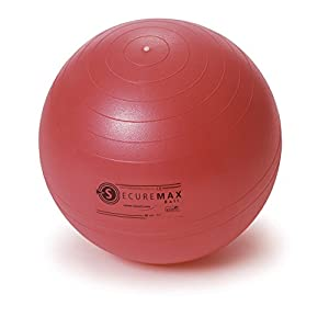 SISSEL Securemax® Exercise Pilates Yoga Ball RED from SPM Supplies