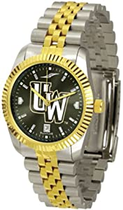Wyoming Cowboys Executive AnoChrome Mens Watch by SunTime