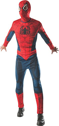 Rubie's Costume Men's Marvel Classic Adult Spider-Man Costume
