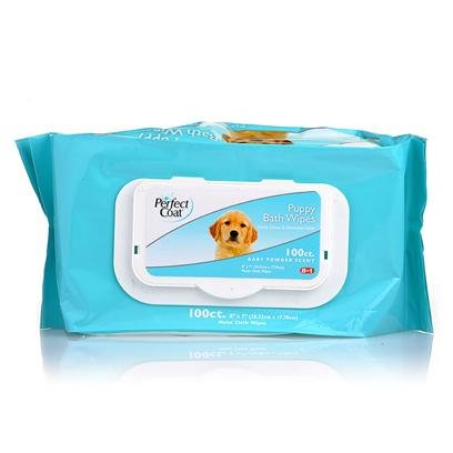 8IN1 BATH WIPES PUPPY 100PK