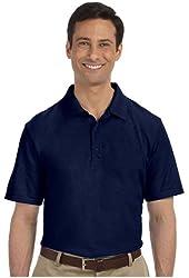 G Zap Men's Basic Button-Up Short Sleeve Cotton Polo Shirt Top