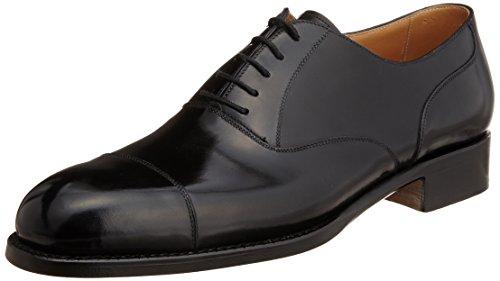 [ヴァーシュ] VASS SHOES 62 Old English Plain model, F last, welted, black boxcalf, Italian polish, single sole with shoe tree 専用シューツリー付き