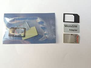 LE Microsim Adapter for Ipad Iphone4g Convert Micro Sim to Regular Sim Adapter