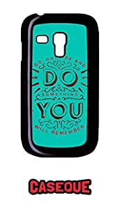 Caseque Go Outside.. Back Shell Case Cover for Samsung Galaxy S3 Mini