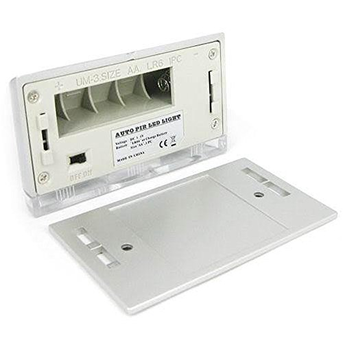 Lohome Tm Silver Auto Pir Door Keyhole Ir Motion Sensor