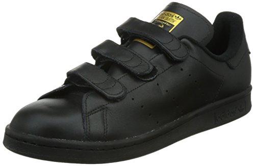 Adidas Stan Smith Cf, Herren Laufschuhe, Schwarz (Core Black/Core Black/Gold Met.), 44 EU thumbnail