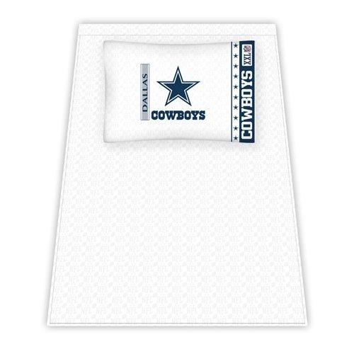 Nfl Dallas Cowboys Micro Fiber Sheet Set, Queen front-28530