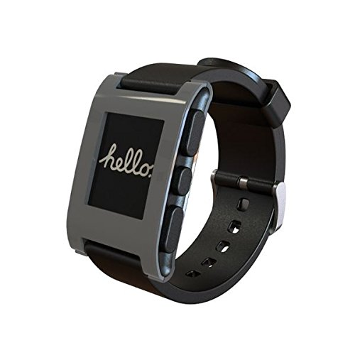 New And Geniune Pebble Smart Watch / Smartwatch For Iphone And Android (Grey)