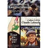 Coffret Lelouch, ann�es 90-2000 : Les parisiens / Tout �a pour �a / Les mis�rablespar Claude Lelouch