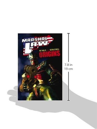 Marshal Law: Origins (Marshal Law (Graphic Novels))