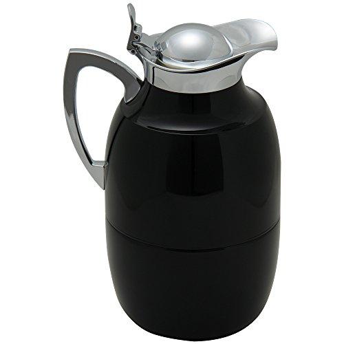 ALFI アルフィ Lacquered metal、 midnight black 真空保温ポット/魔法瓶 ブラック 570233100 並行輸入品