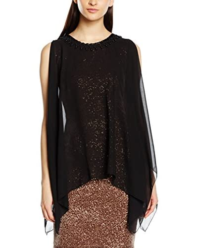 MAIOCCI Kleid braun/schwarz