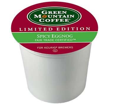 Green Mountain SPICY EGGNOG - 12 k-cups (Ziplock Single Serve compare prices)
