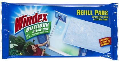 windex-outdoor-all-in-one-window-cleaner-pads-refill-2-ct-quantity-of-6-by-groceries-to-your-door