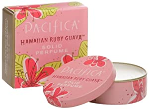Pacifica Solid Perfume Hawaiin Ruby Guava -- 0.33 oz