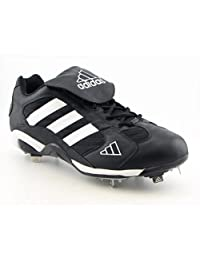 adidas Mens Excel Pro Lo 2K Metal Baseball Cleats Black White Size 16
