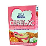 Nestle Cerelac Fortified Baby Meal With Milk Wheat-Rice Mixed Fruit 3 Stage 300g