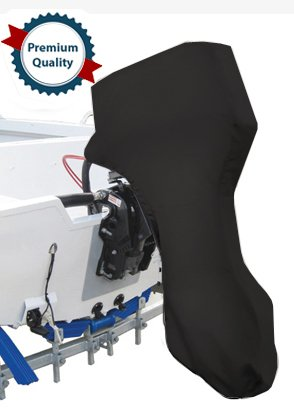 Oceansouth Full Outboard Motor Engine Cover Black Fits
