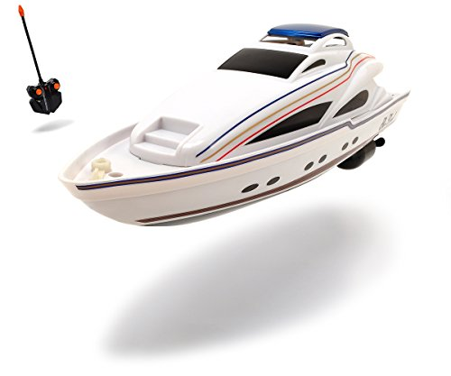 Dickie Spielzeug 201119548 - RC Boot Sea Lord, Ready to Run, 2-Kanal Funkfernsteuerung, 34 cm, weiߟ