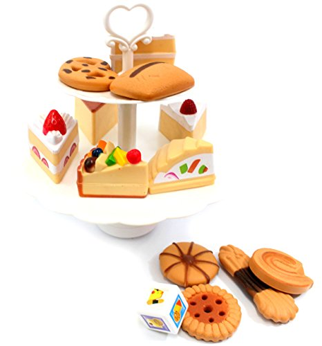 PowerTRC® Cookies and Desserts Tower Playset (Play Dessert Food compare prices)