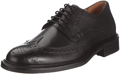 GANT Pittsfield Leather 45.42003A001, Herren Klassischer Schnürer, Schwarz (black), EU 43 (UK 9)