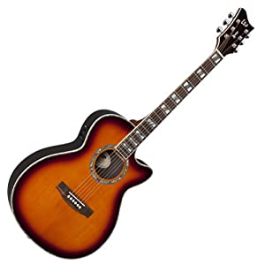 ESP Acoustic Electric Guitar AC-15E X-Tone LTD Tobacco Sunburst New AC-15ESTSB